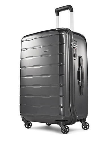 Samsonite Spin Trunk 25-Inch Spinner Suitcase-CHARCOAL-25