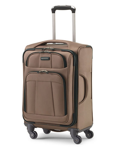 Samsonite Rhapsody Lite Spinner Carry-On Luggage-BROWN-20