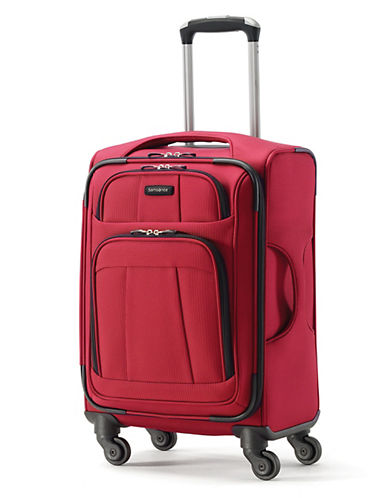 Samsonite Rhapsody Lite Large Spinner Suitcase-RED-One Size