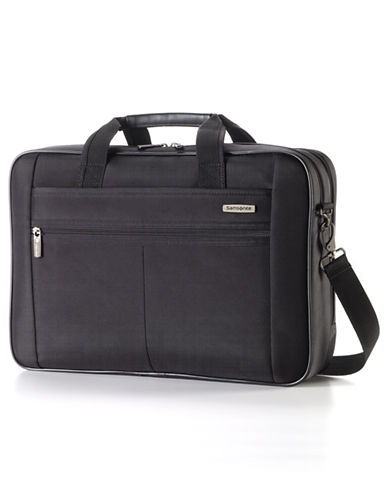 Samsonite Classic 2 - 2 Gusset Brief 17 Inch With RFID-BLACK-17