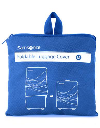 Samsonite Foldable Luggage Cover Medium-BLUE-One Size