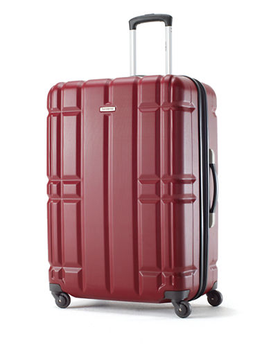 Samsonite X-Caliber 24-Inch Spinner Suitcase-RED-24