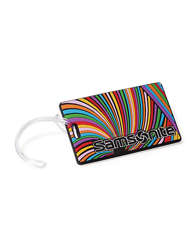 Samsonite Samsonite Psychedelic Luggage ID Tag-MULTI-One Size