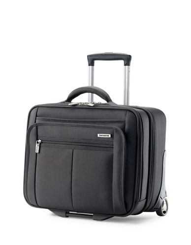 Samsonite Classic 2 Wheeled Mobile Office Bag-BLACK-16