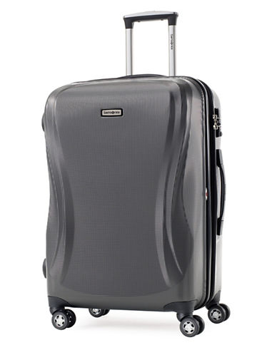 Samsonite Rhapsody 19 Inch Strong Shell Spinner Carry-On Suitcase-CHARCOAL-19