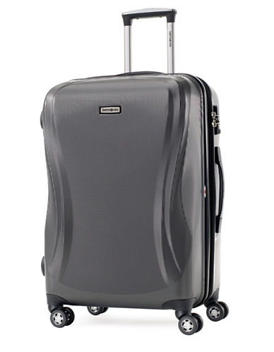 Samsonite Rhapsody 28 Inch Strong Shell Large Expandable Spinner Suitcase-CHARCOAL-28