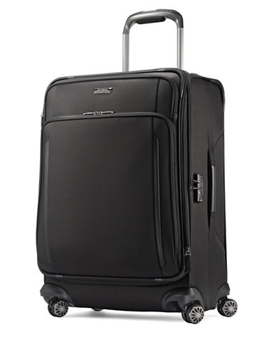 Samsonite Silhouette XV Spinner Medium Suitcase-BLACK-25