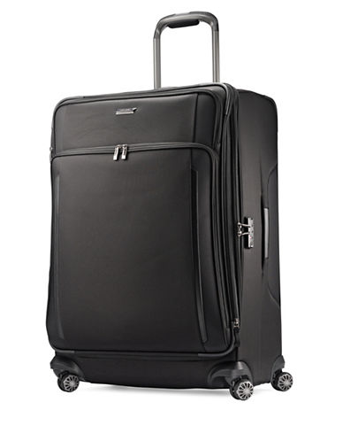 Samsonite Silhouette XV Spinner Large Suitcase-BLACK-29