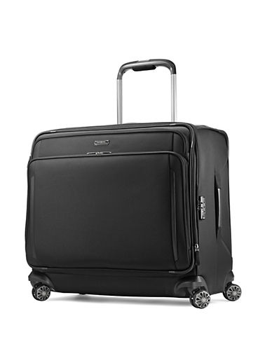 Samsonite Silhouette XV Glider Large Suitcase-BLACK-25