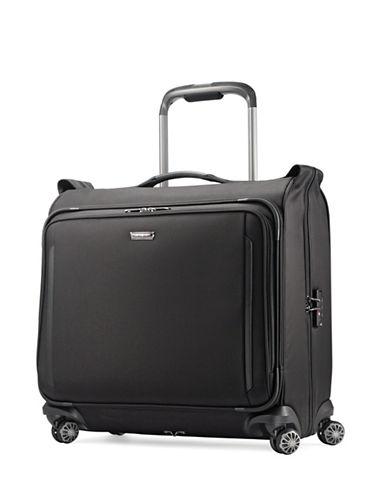Samsonite Silhouette XV Deluxe Voyager Garment Bag-BLACK-22