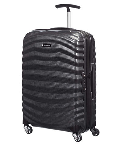 Samsonite Black Label Lite-Shock Spinner Carry-On Suitcase-BLACK-22