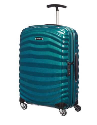 Samsonite Black Label Lite-Shock Spinner Carry-On Suitcase-BLUE-22