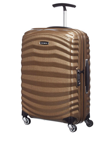 Samsonite Black Label Lite-Shock Spinner Carry-On Suitcase-SAND-22