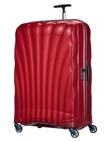 Samsonite Black Label Cosmolite 30-Inch Spinner Large Suitcase-RED-30
