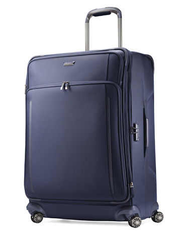 Samsonite Silhouette XV Spinner Large Suitcase-BLUE-29