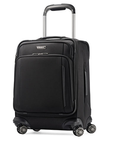 Samsonite Silhouette XV Spinner Carry-On Widebody Suitcase-BLACK-21