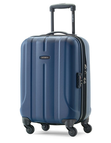 Samsonite Fiero 20 Expandable Spinner Suitcase-NAVY-20