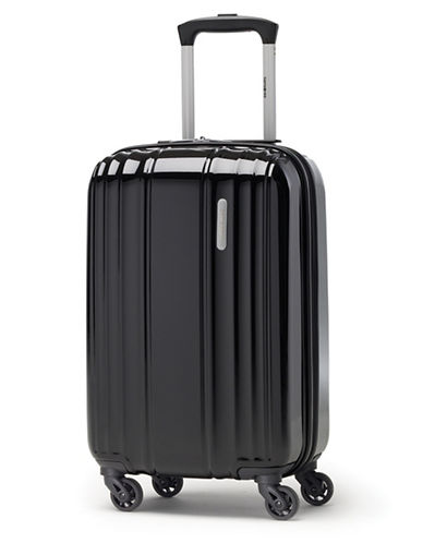 Samsonite Spinease HS Spinner Carry-On 2 Suitcase-BLACK-One Size