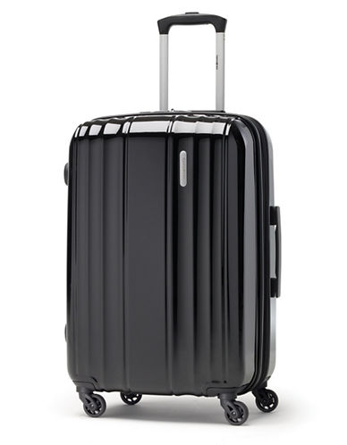 Samsonite Spinease 24-Inch HS Spinner Suitcase-BLACK-One Size