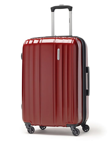 Samsonite Spinease 24-Inch HS Spinner Suitcase-RED-One Size