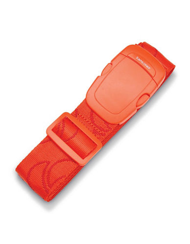 Samsonite Webbing Luggage Strap-RED-One Size
