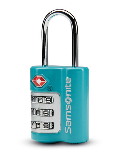 Samsonite Three-Dial Travel Sentry Combination Lock-TEAL-One Size