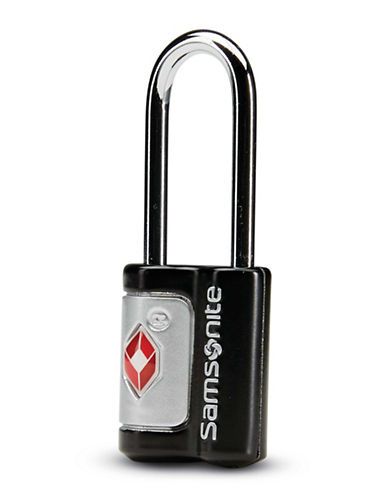 Samsonite Set of Two Travel Sentry Key Locks-BLACK-One Size