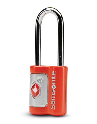 Samsonite Set of Two Travel Sentry Key Locks-RED-One Size