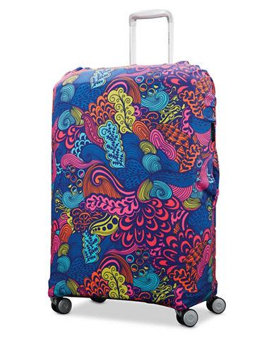 Samsonite Medium Printable Luggage Cover-MULTI-One Size