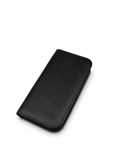 Samsonite Zip-Close Travel Wallet-BLACK-One Size