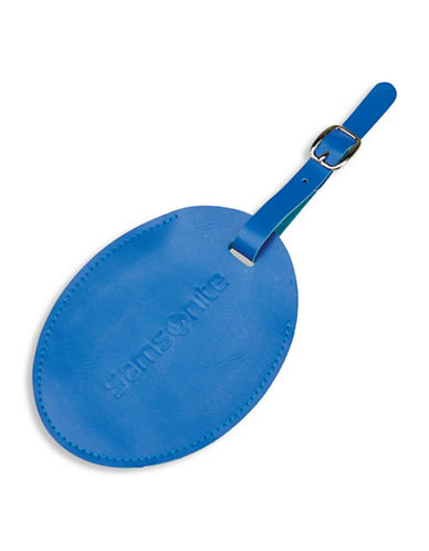 Samsonite Large ID Tag-BLUE-One Size