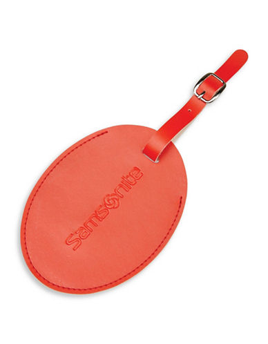 Samsonite Large ID Tag-RED-One Size