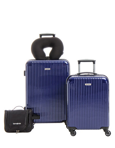 Samsonite Streamlite HS Four-Piece Luggage Set-BLUE-4pc