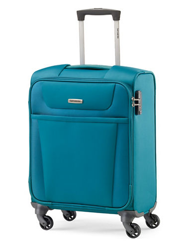 Samsonite Integra DLX 21-Inch Carry-On Spinner-TEAL-20