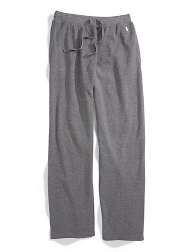 Polo Ralph Lauren Thermal Pants-CHARCOAL-Large