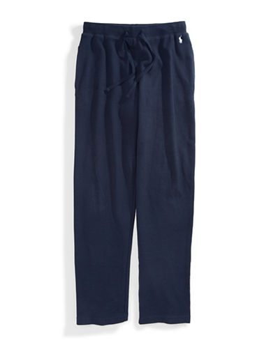 Polo Ralph Lauren Thermal Pants-NAVY-Small
