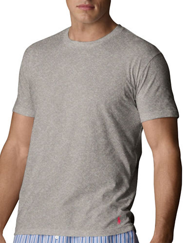 Polo Ralph Lauren Short Sleeve Crew Supreme Comfort-GREY-Large