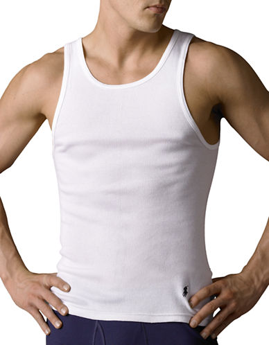 Polo Ralph Lauren Classic Cotton Three Tank-WHITE-X-Large 87606319_WHITE_X-Large