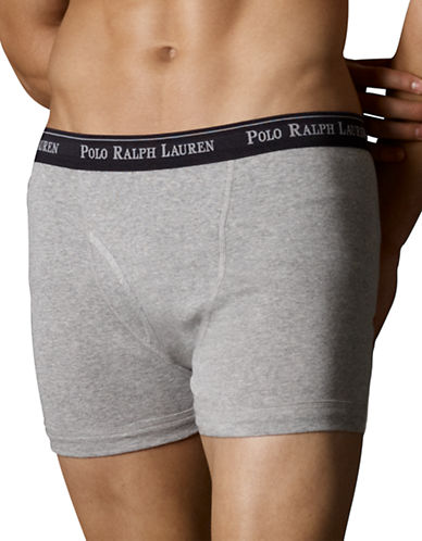 Polo Ralph Lauren Three Boxer Briefs-ASSORTED-Large