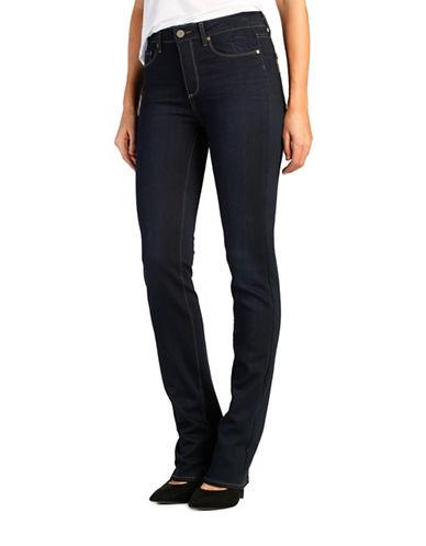 Paige Hoxton Straight Leg Jeans-DARK BLUE-25