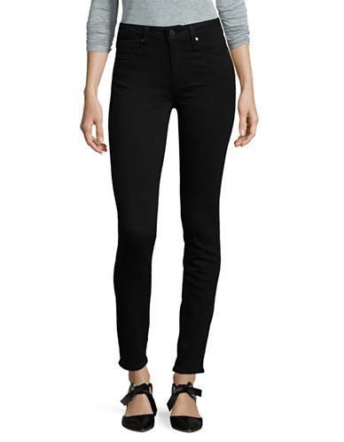 Paige Hoxton Ultra Skinny-High Rise Jeans-BLACK-28