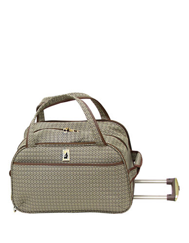 London Fog Stratford 19-Inch Wheeled Club Bag-TAN-19