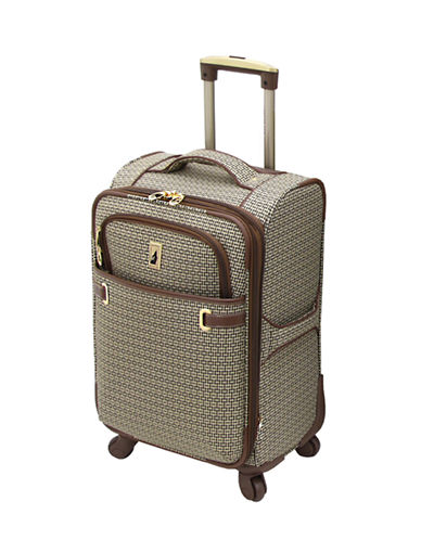 London Fog Stratford 20-Inch Expandable Upright Spinner-TAN-20