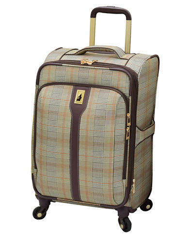 London Fog Knightsbridge 360 20-Inch Spinner-BROWN-20