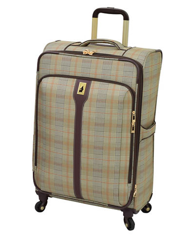 London Fog Knightsbridge 25  Expandable Spinner-BROWN-25
