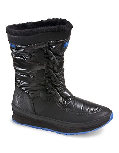 Keds Womens Powder Puff Boots-BLACK-8