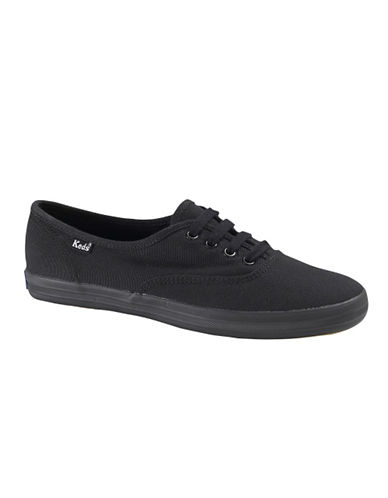 Keds Womens Champion Oxford-BLACK-9
