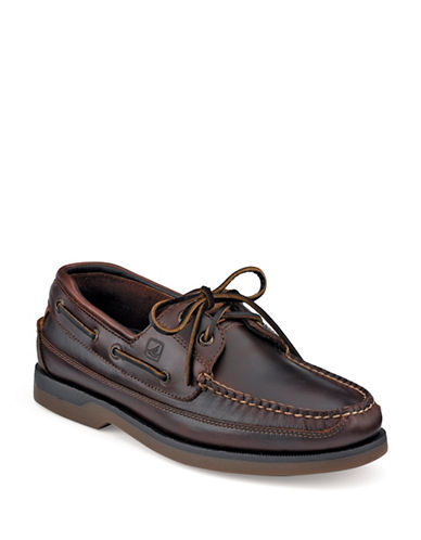 Sperry Mako 2 Eye Amaretto-AMARETTO-9.5