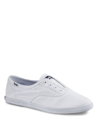 Keds Womens Chillax Seasonal Solid Sneakers-WHITE-7