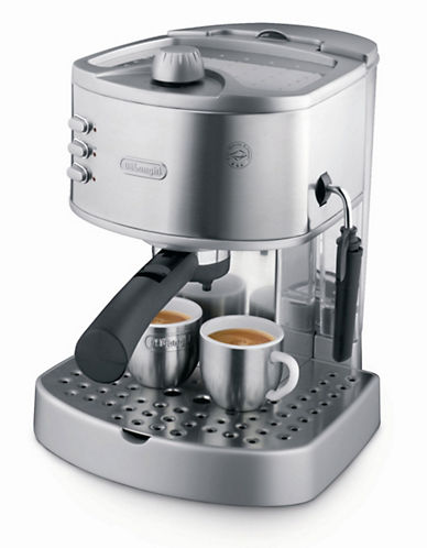 Delonghi Espresso Machine-SILVER-One Size
